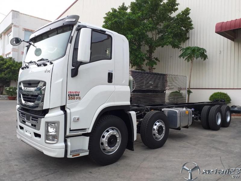 Xe tải ISUZU VĨNH PHÁT 4 CHÂN 18T 2020