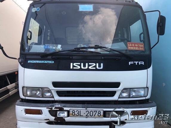 Cần bán xe thùng kín Isuzu 2008