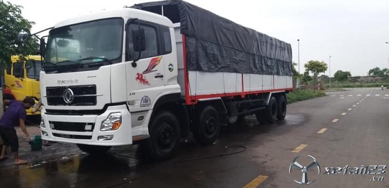 Bán Dongfeng Hoàng Huy 4 chân sản xuất năm 2015 thùng mui bạt giá 730 triệu