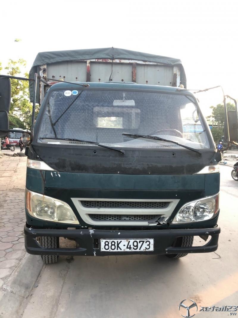 Thanh lý gấp xe Thaco FC đời 2008 thùng mui bạt giá siêu rẻ chỉ 62 triệu