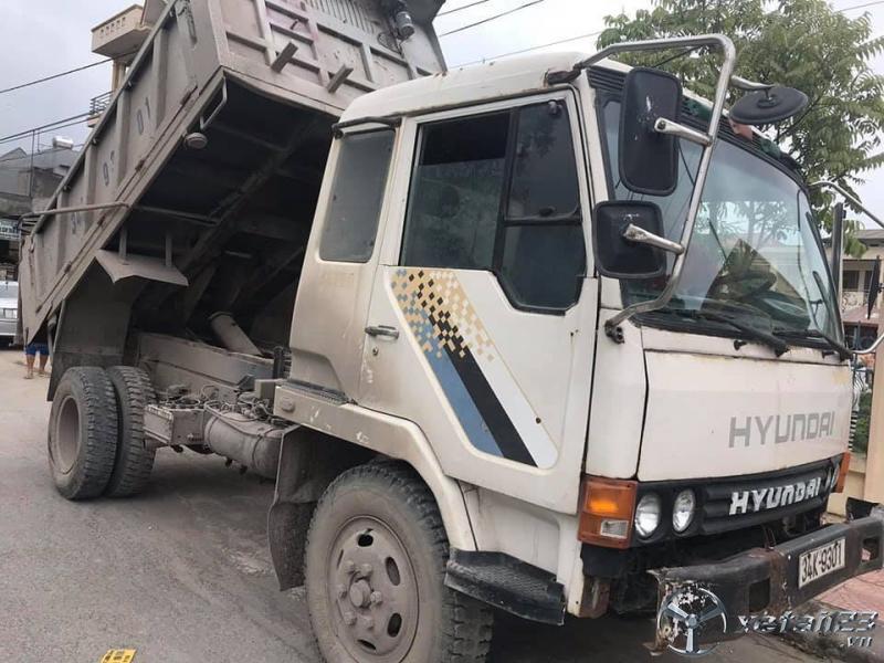 Xe Hyundai 5 tấn đời 1997 thùng mui bạt đã qua sử dụng giá 160 triệu
