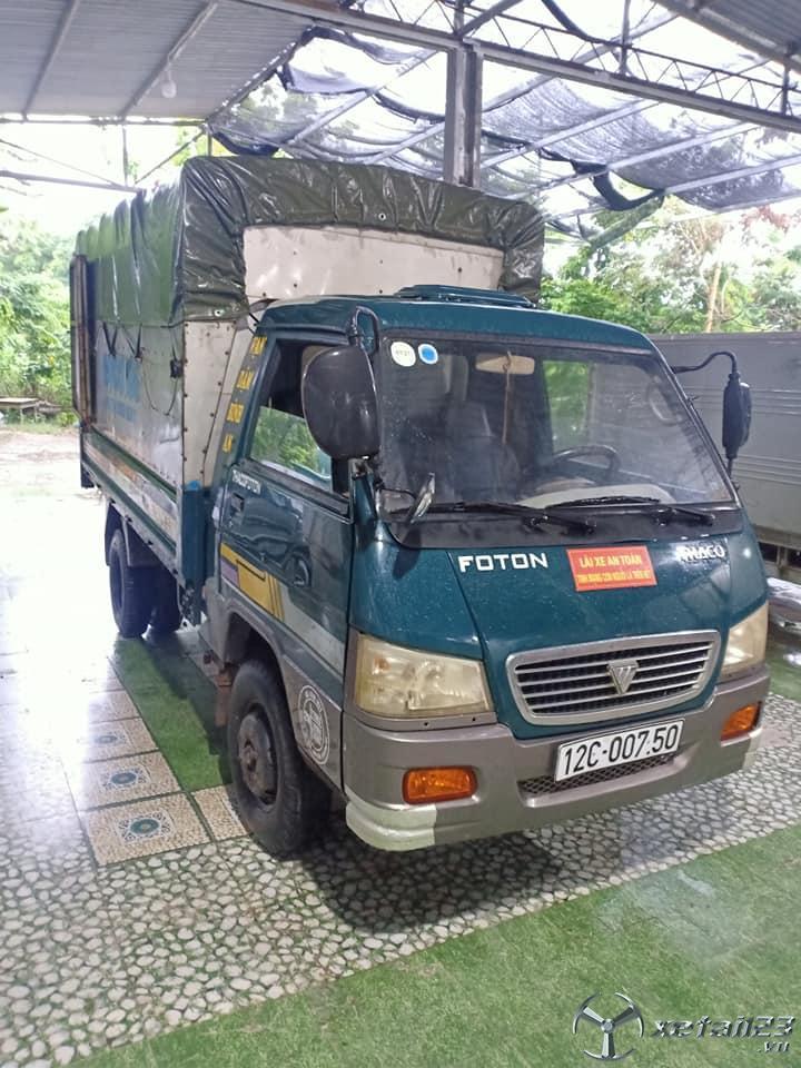 Bán gấp xe Thaco Fc đời 2008 thùng mui bạt ,giá 60 triệu