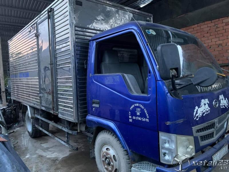 Cần bán gấp xe Vinasuki sản xuất năm 2011 thùng kín giá siêu rẻ chỉ 75 triệu