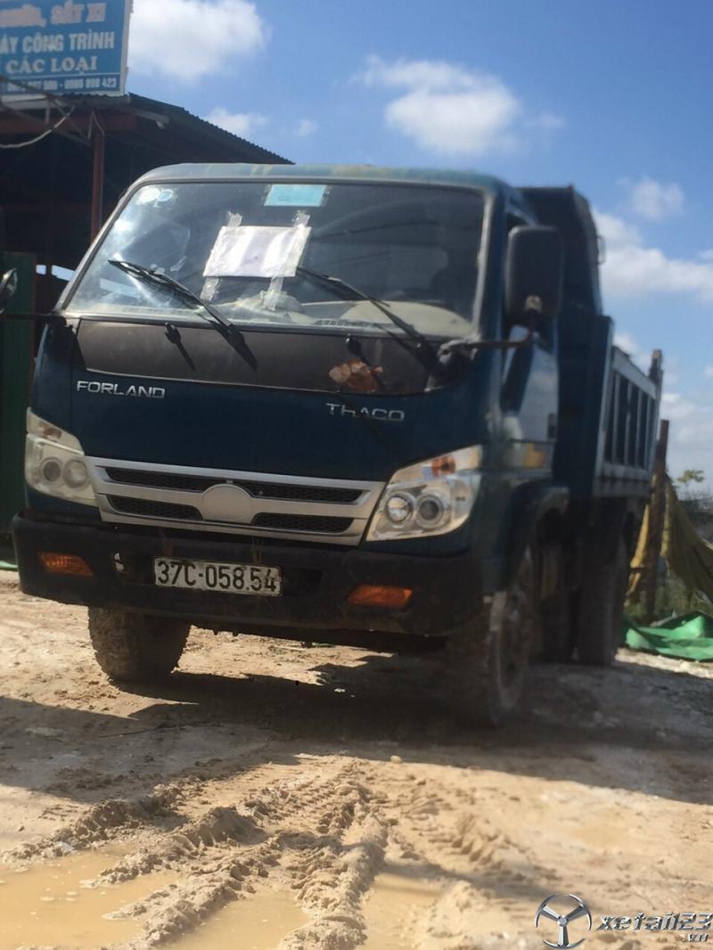 Cần bán chiếc xe ben Thaco Forland 2,5 tấn đời 2012