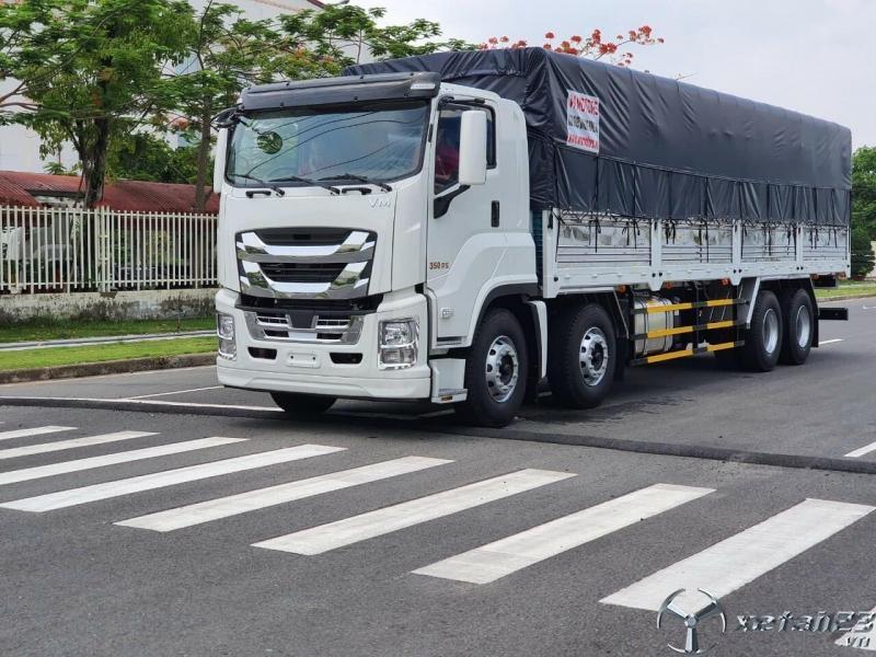 xe tải 4 chân isuzu cập nhật giá tháng 10.