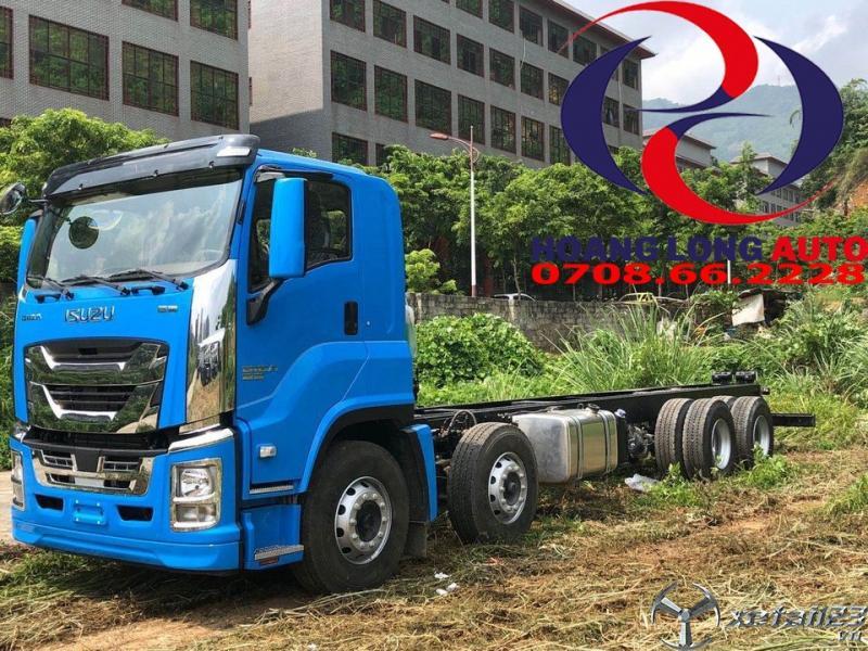 xe tải 4 chân isuzu ưu dãi tháng 10