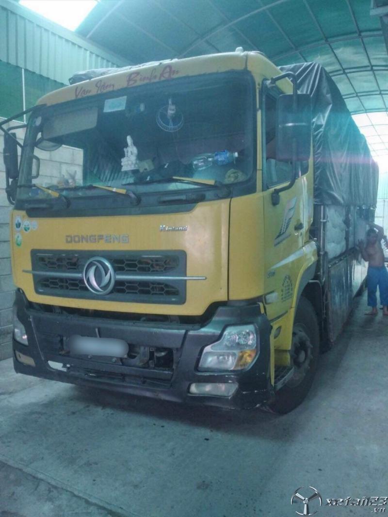 Rao bán xe Dongfeng Hoàng Huy đời 2015 thùng mui bạt giá rẻ , sẵn xe giao ngay