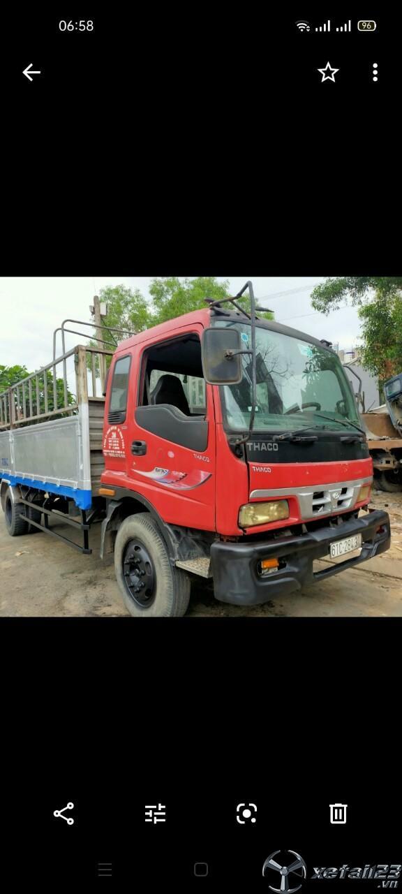 Cần thanh lý gấp xe Thaco Foton đời 2005 thùng mui bạt dài 6,3m