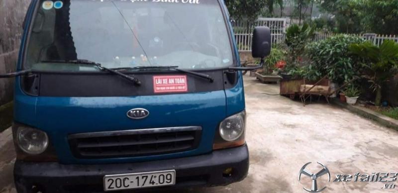 Thanh lý gấp xe Kia K2700 đời 2003 thùng mui bạt, giá 95 triệu