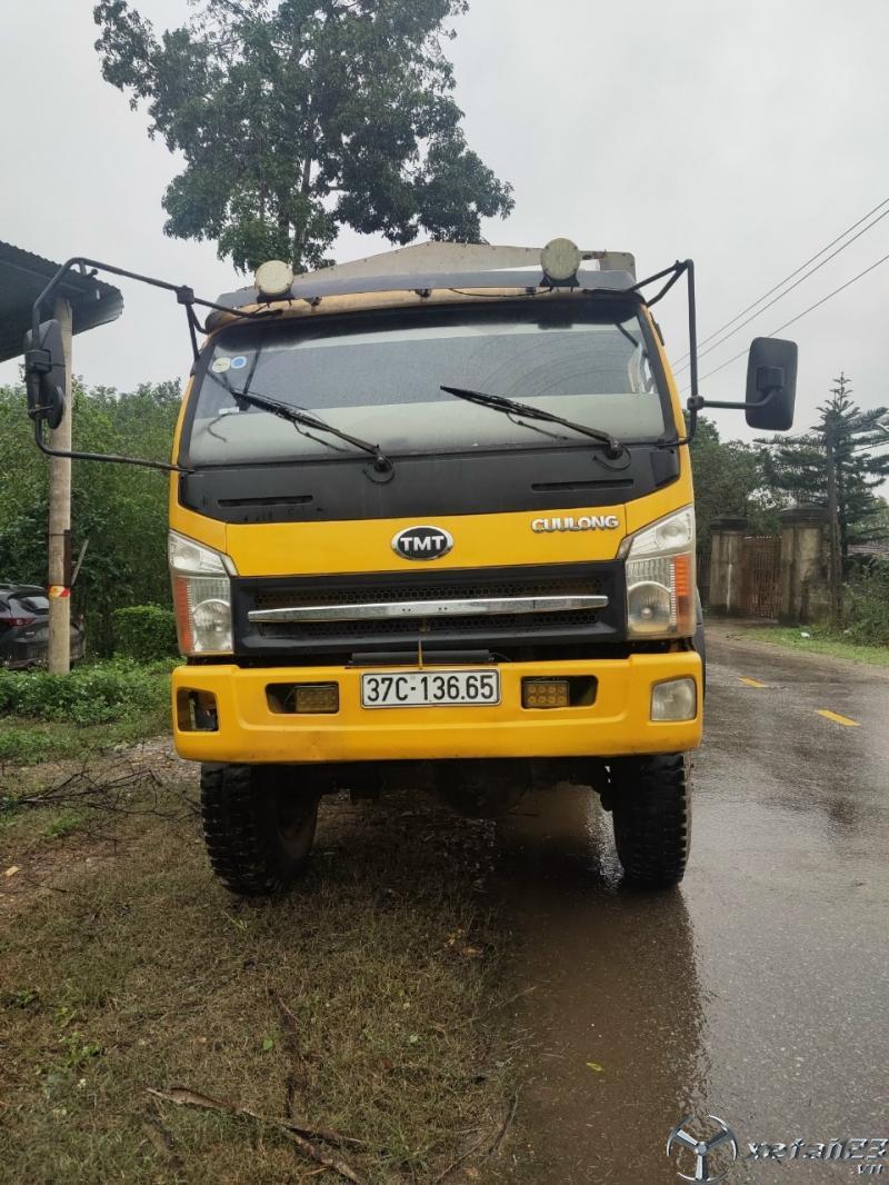 Cần bán xe TMT 7 tấn đời 2014 thùng mui bạt