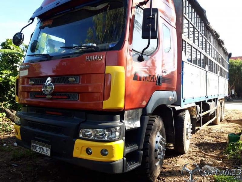 Cần bán gấp xe Chenglong đời 2013 thùng mui bạt , giá 750 triệu