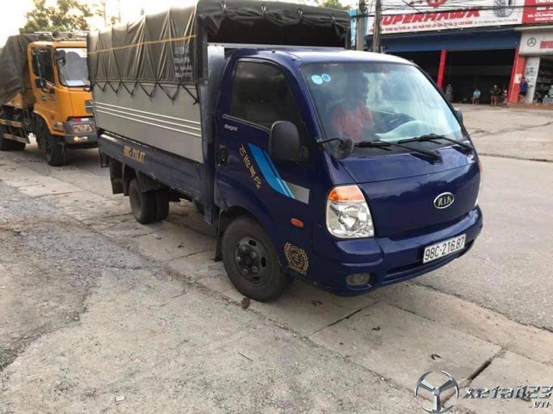 Bán xe Kia Bongo III đời 2007 phiên bản thùng kín.Chỉ với 165 triệu nhận nhận ngay xe đẹp