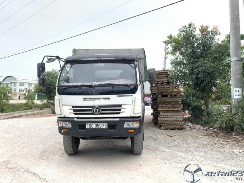 Cần bán xe Trường Giang 7 tấn đời 2014 thùng mui bạt