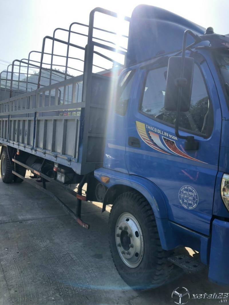 Rao bán xe Thaco Ollin 950A sản xuất năm 2016 thùng mui bạt