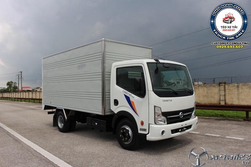 Xe tải nissan 1T9 thùng dài 4M3 - Xe tải Cabstar